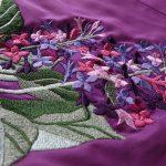 Рисунки для вышивки подола платья