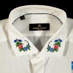 Как украсить воротник блузки?