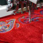 Как создаётся вышивка