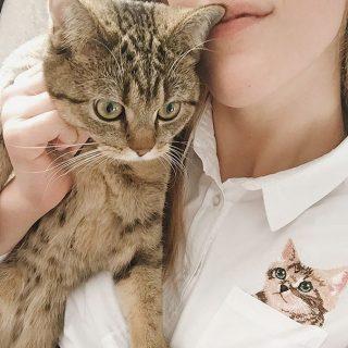 Чем украсить карман на блузке?