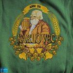 Вышивка эмблемы пива для бара