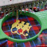 Как создается вышивка золотом?