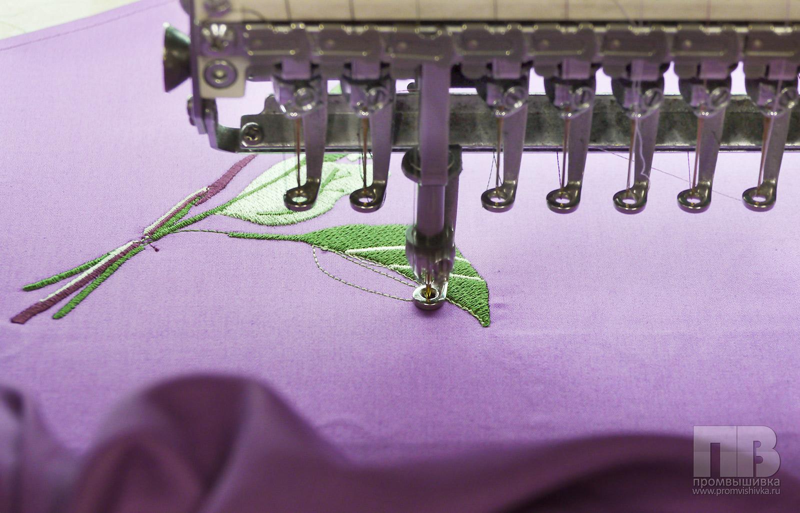 Как заработать на машинной вышивке