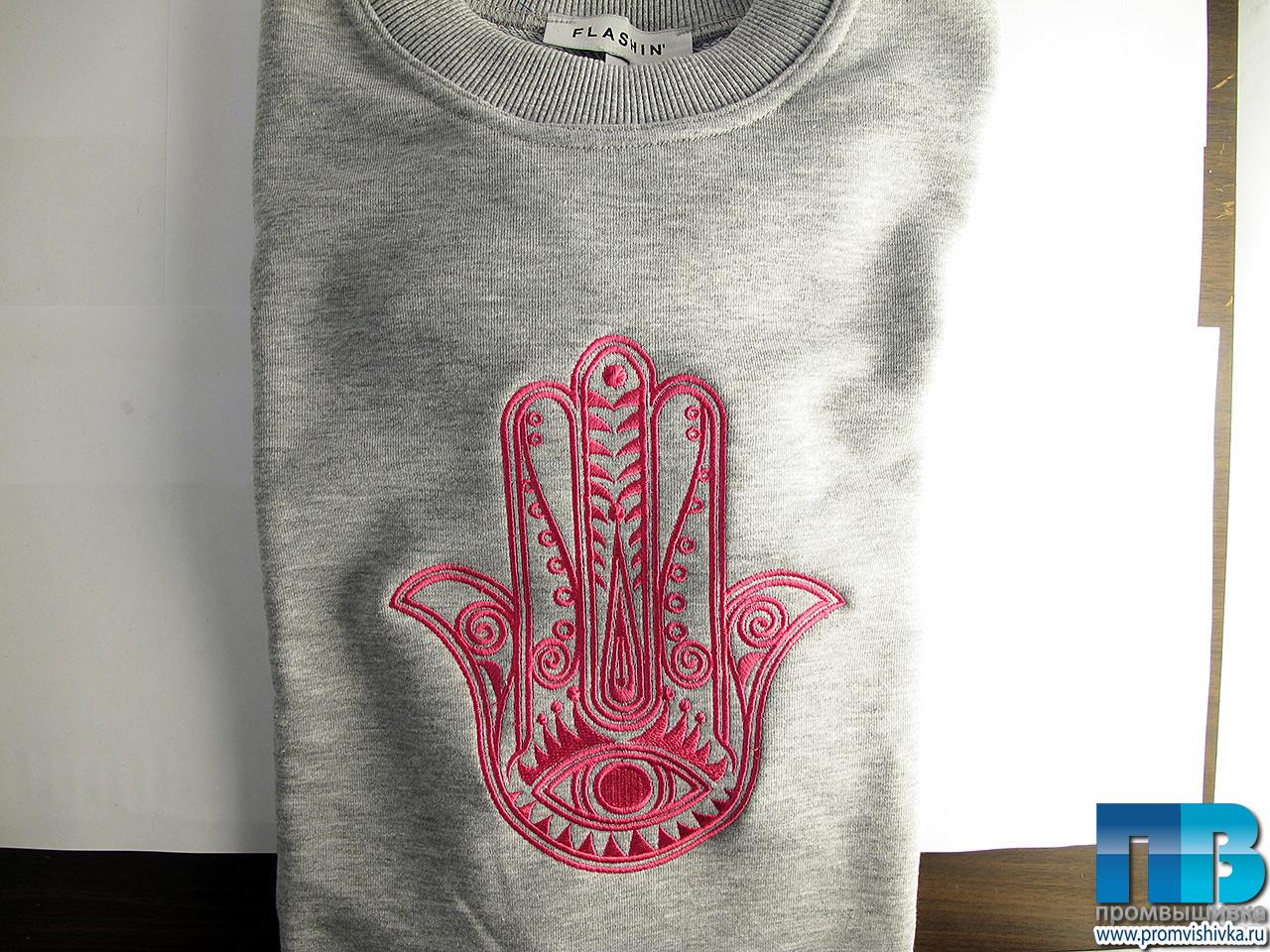 Вышивка на футболках от 1 in