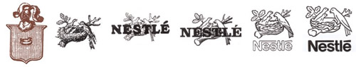 История логотипа Нестле