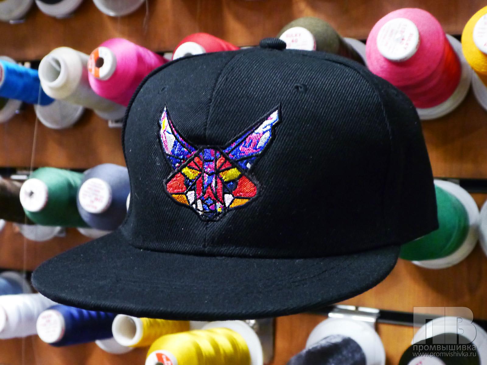 Вышивка на кепках на заказ 56