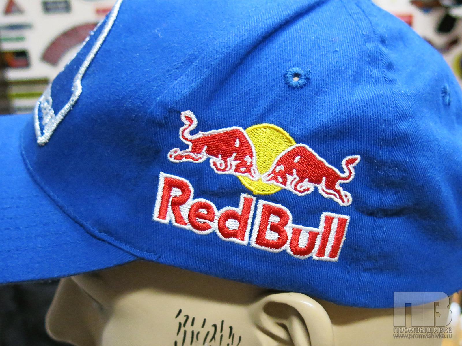 Вышивка логотипа на кепке 66