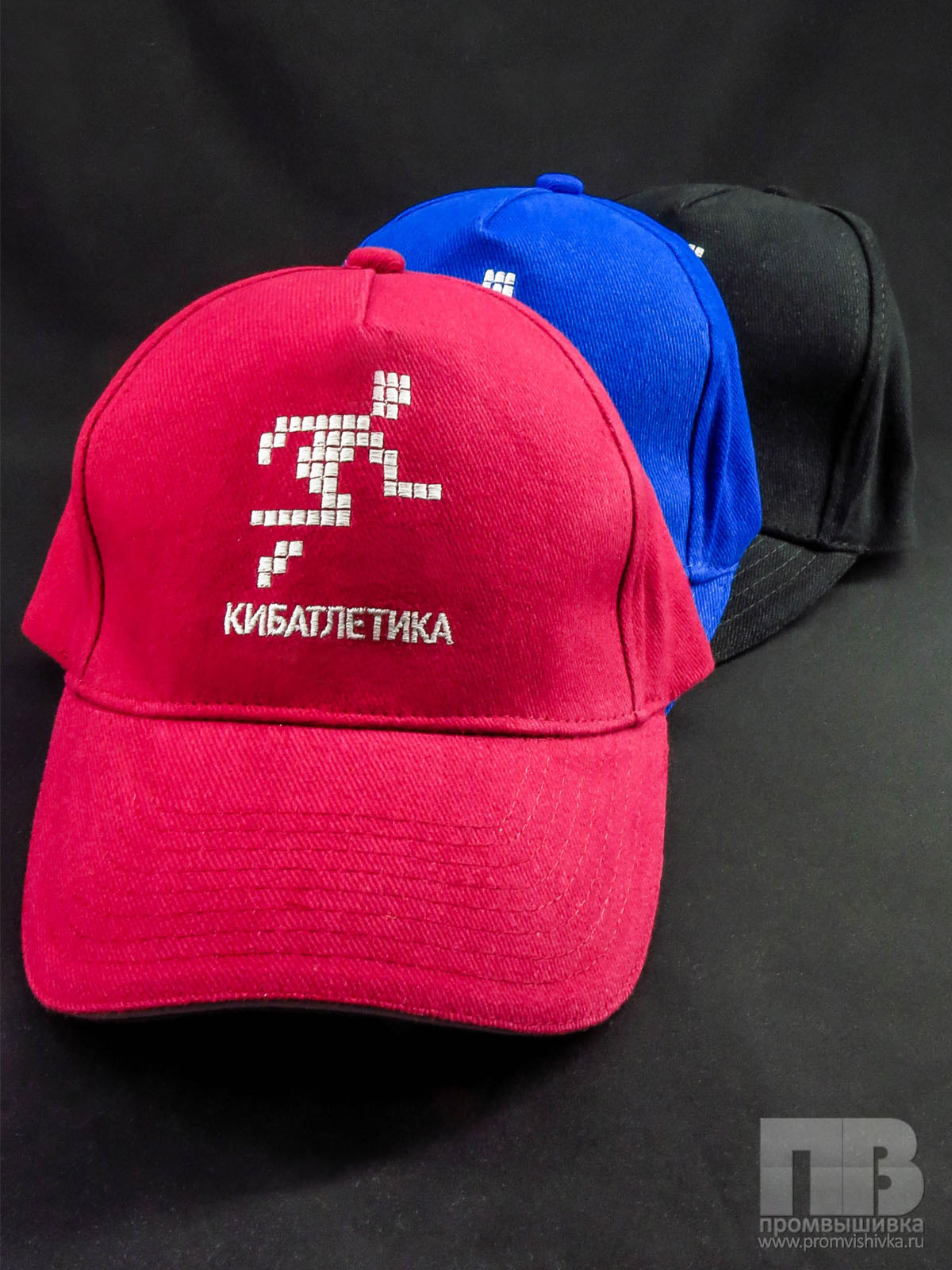 Вышивка логотипа на кепке 30