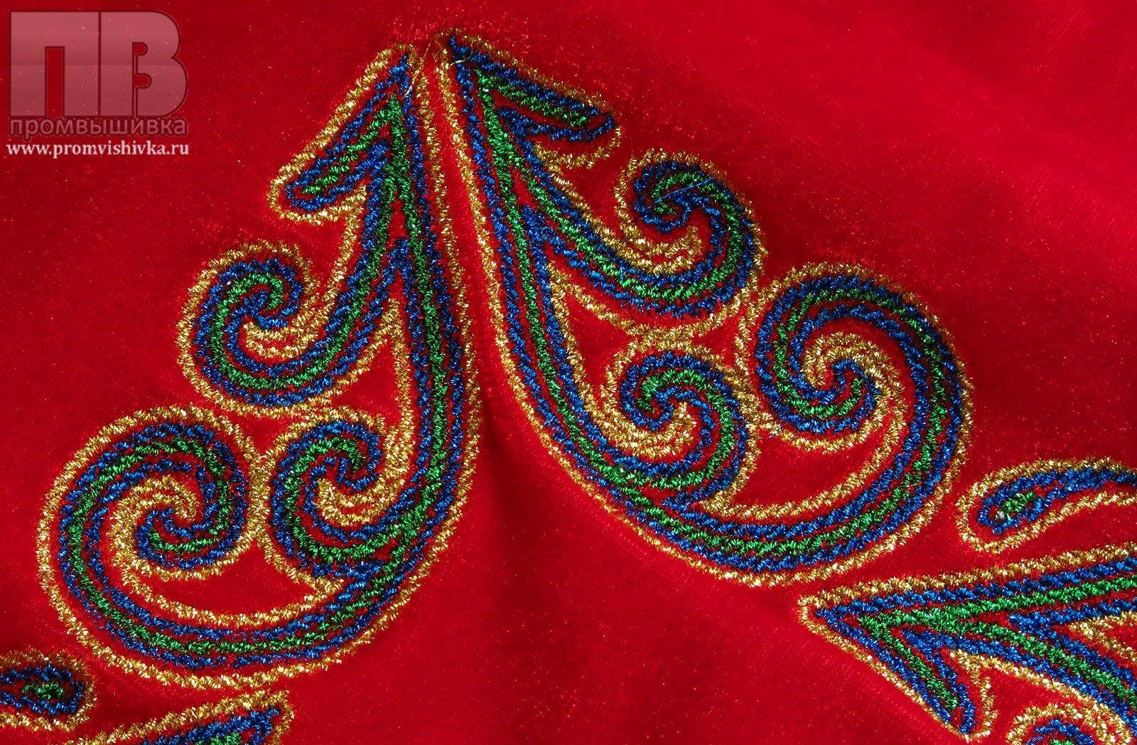 Вышивка художественная машинная