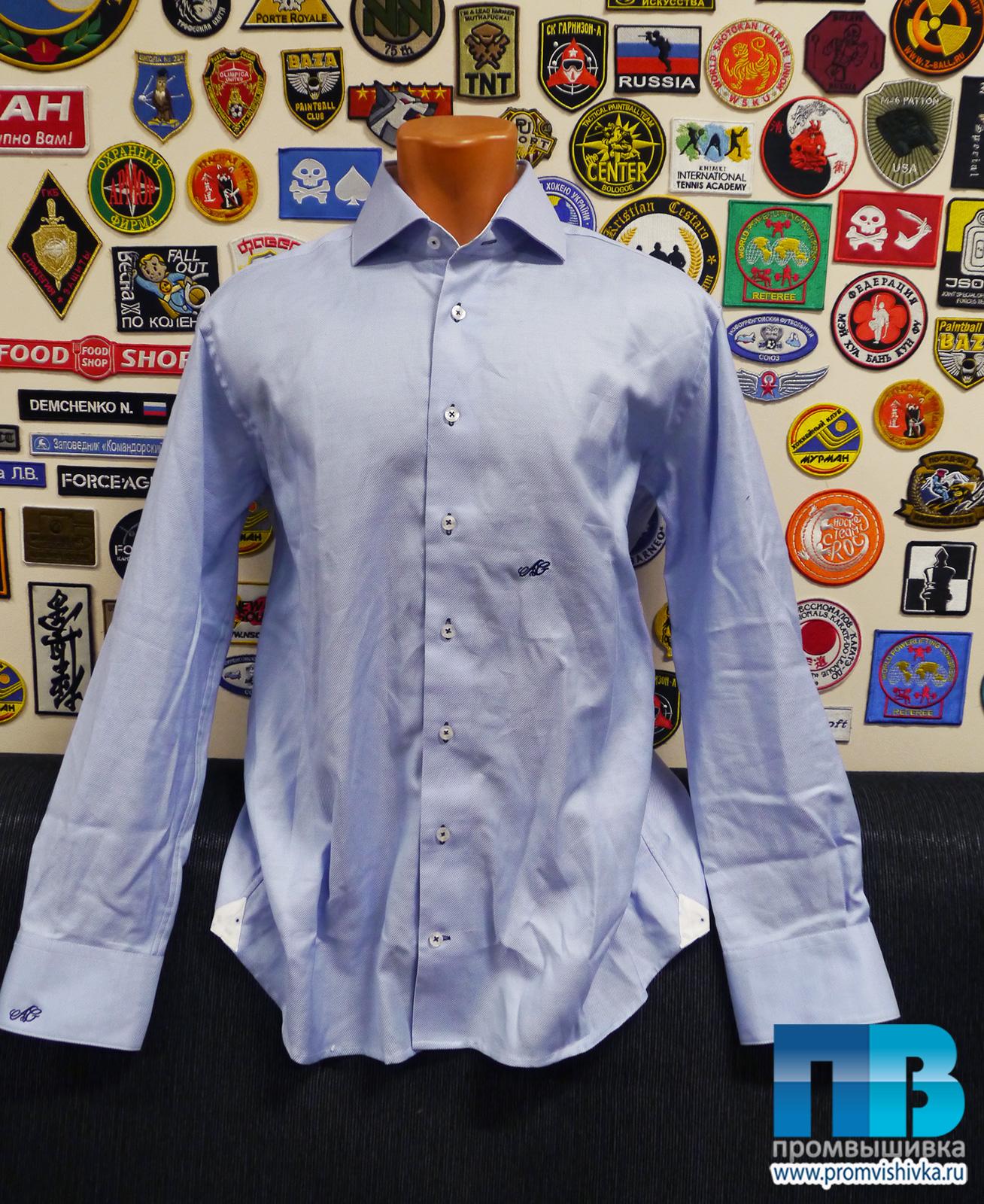 Вышивка на рубашке 100