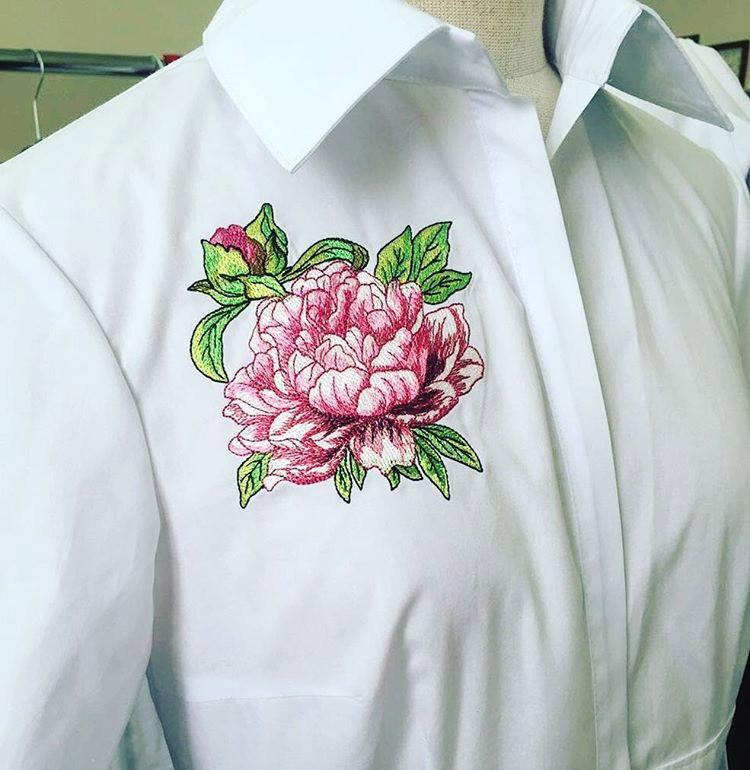 Вышивка На Одежде На Заказ