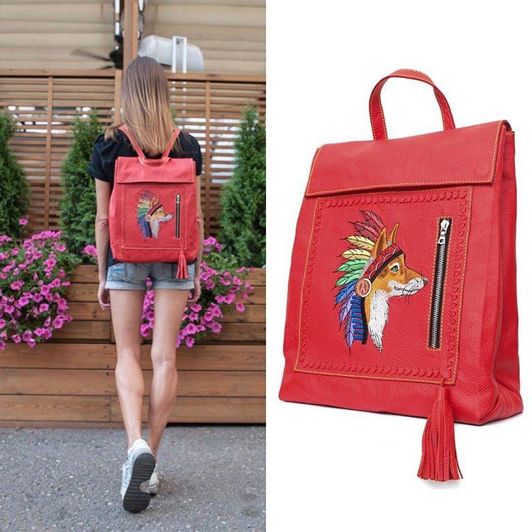 Рюкзак с вышивкой фото 35