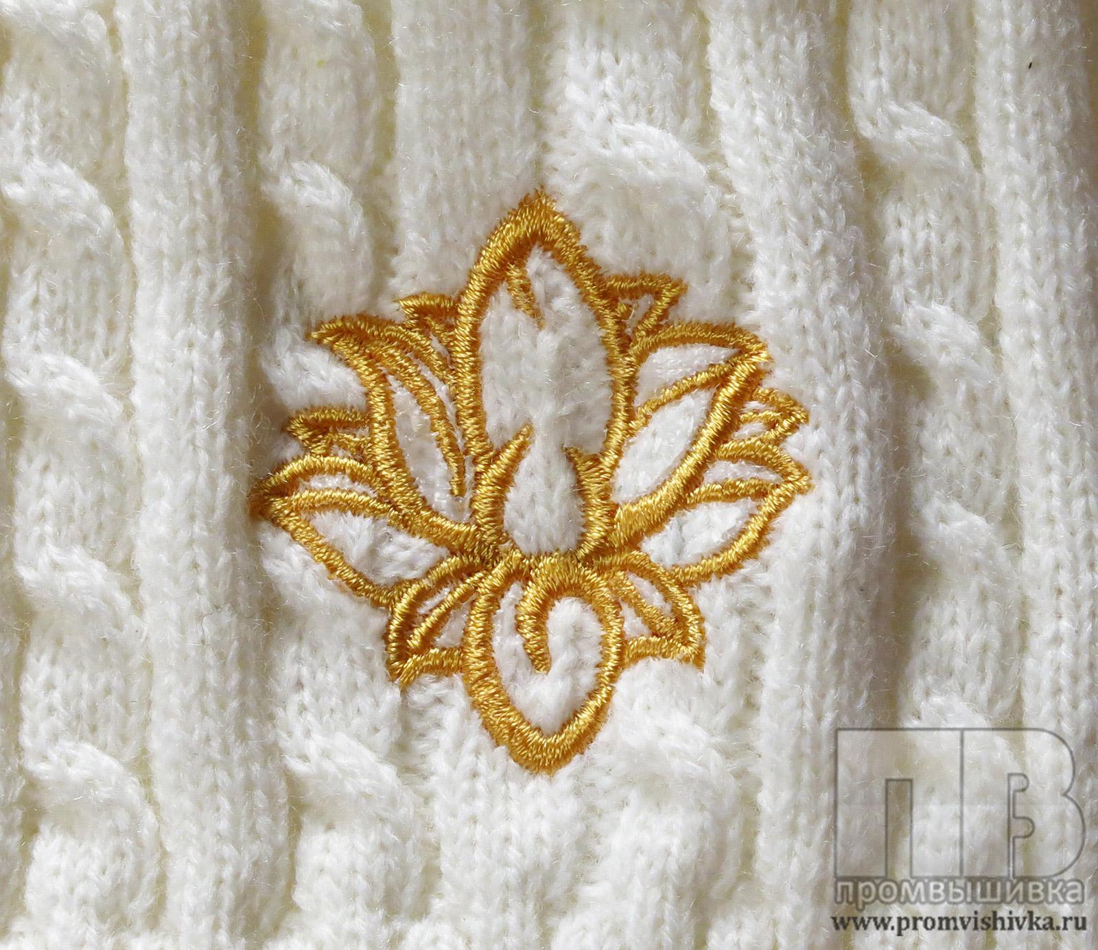вышивка по вязаному как вышивать по вязаному полотну и на вязанных