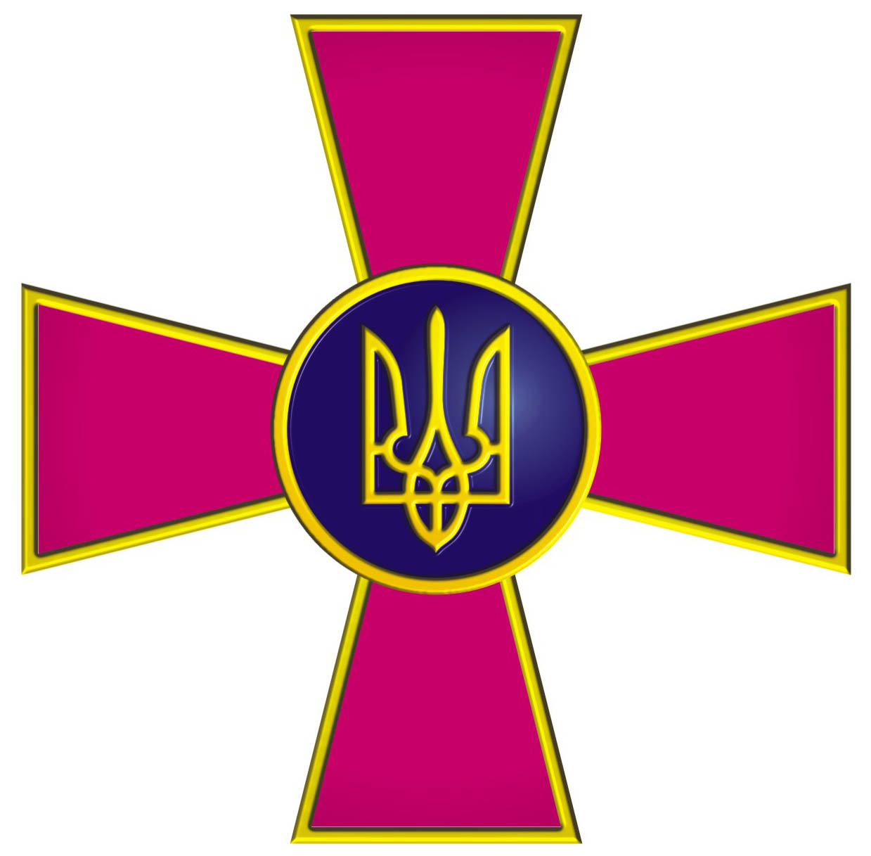 Znalezione obrazy dla zapytania эмблема украинской армии