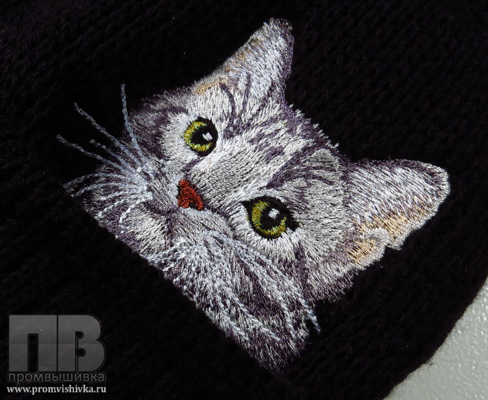 Купить вышивку на вязаном
