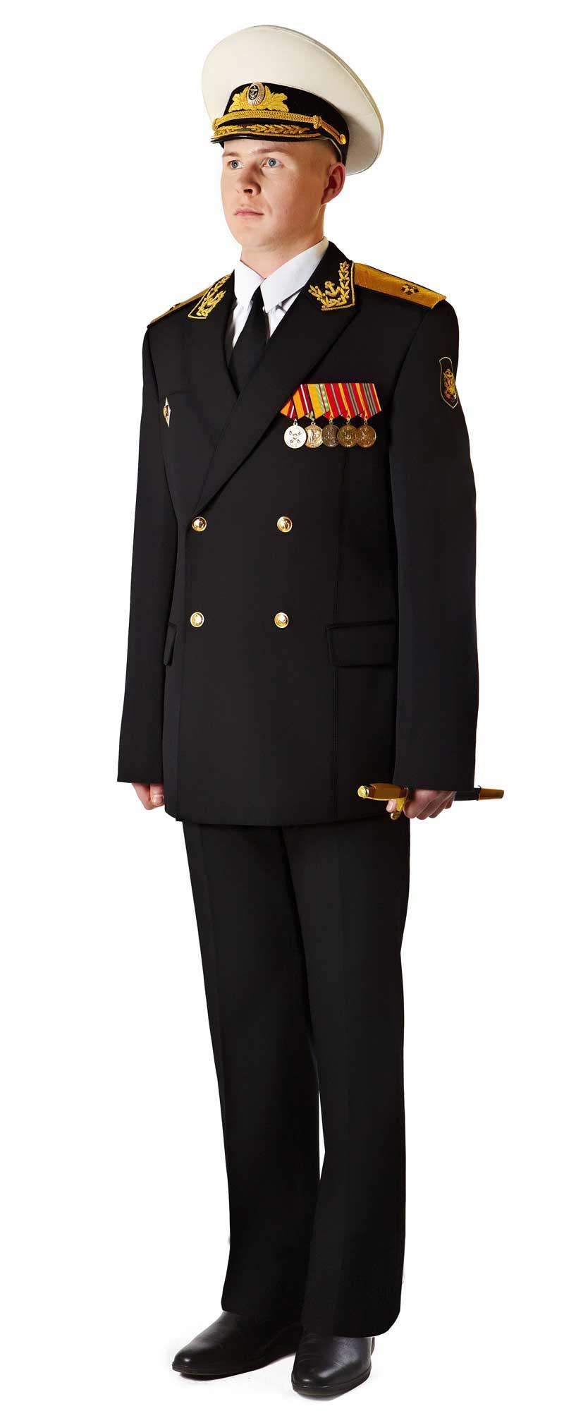 Парадная форма адмиралов и генералов