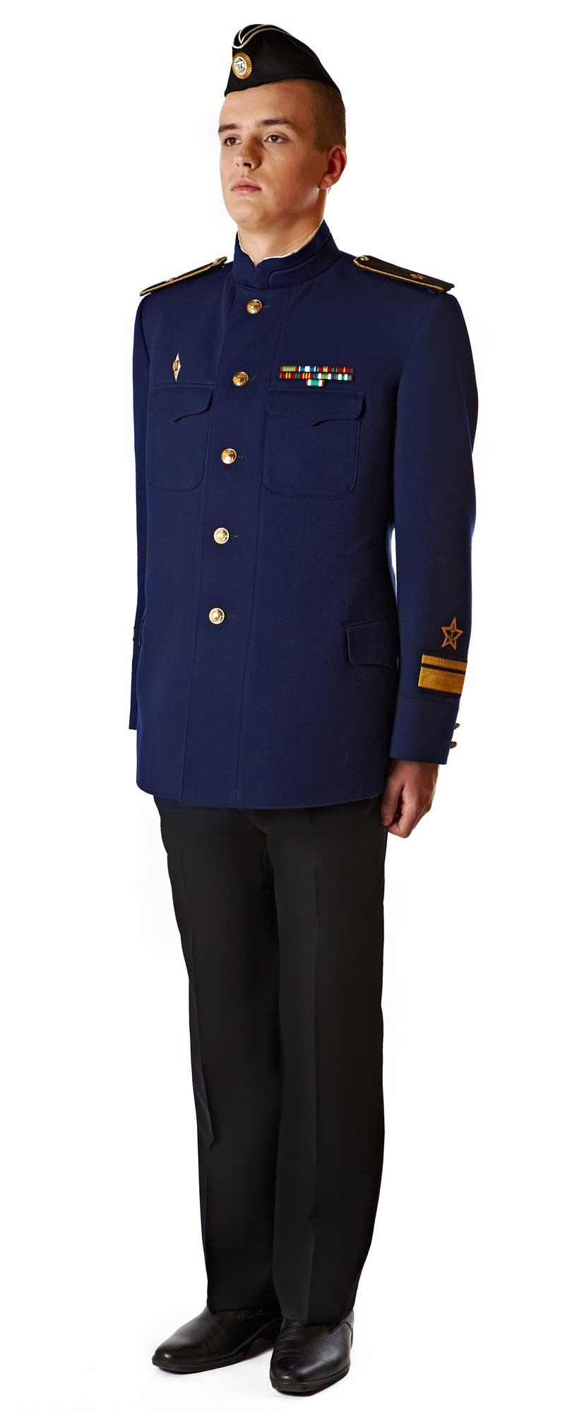Повседневная форма адмиралов и