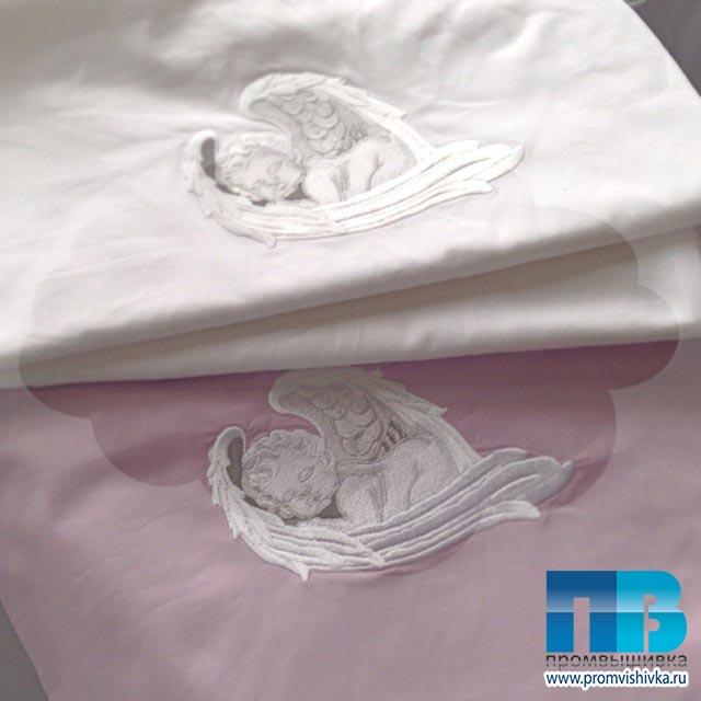 Вышивка постельного белья в