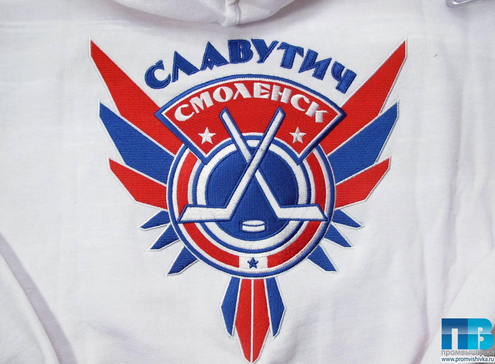 Спортивная команда решила заказать вышивку эмблемы своего клуба на форме