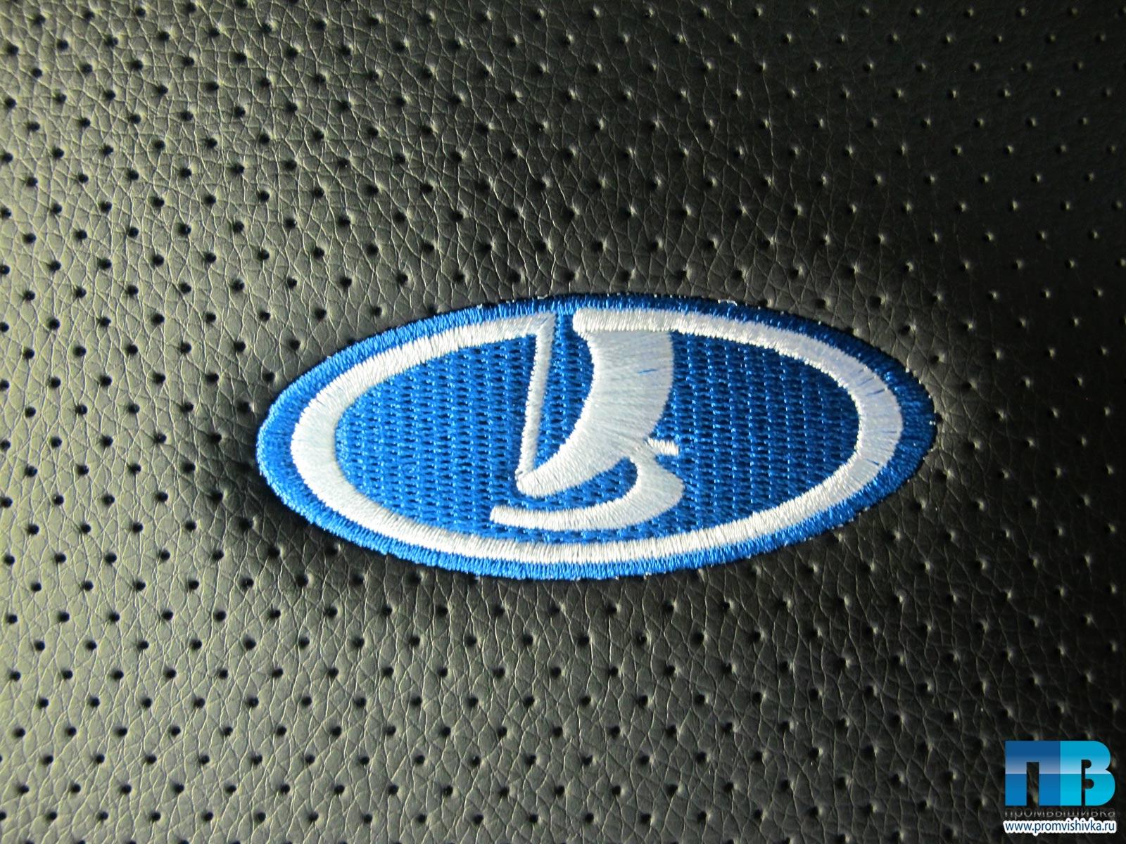Вышивки крестом логотипа лада