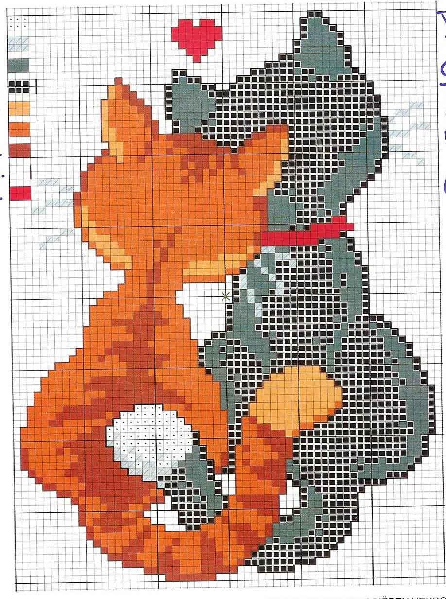 Вышивка крестиком схемы для вышивки по клеточкам 584
