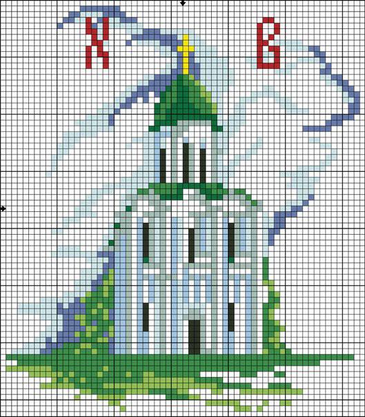 Православная вышивка крестом:
