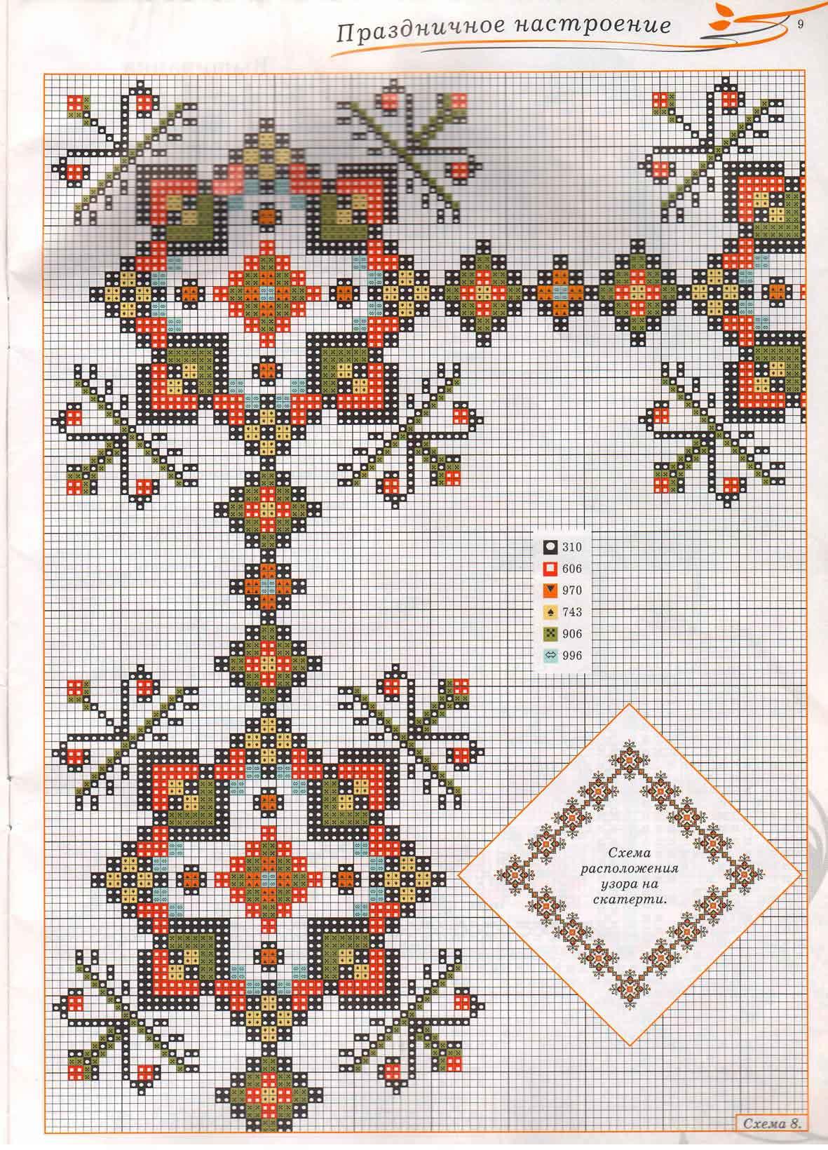 Портал лучших схем вышивки крестом для скачивания