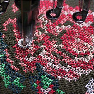 Вышивка в стиле винтаж